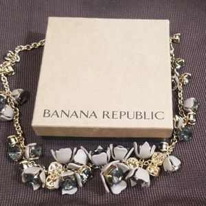 Banana Republic Jeweled Necklace